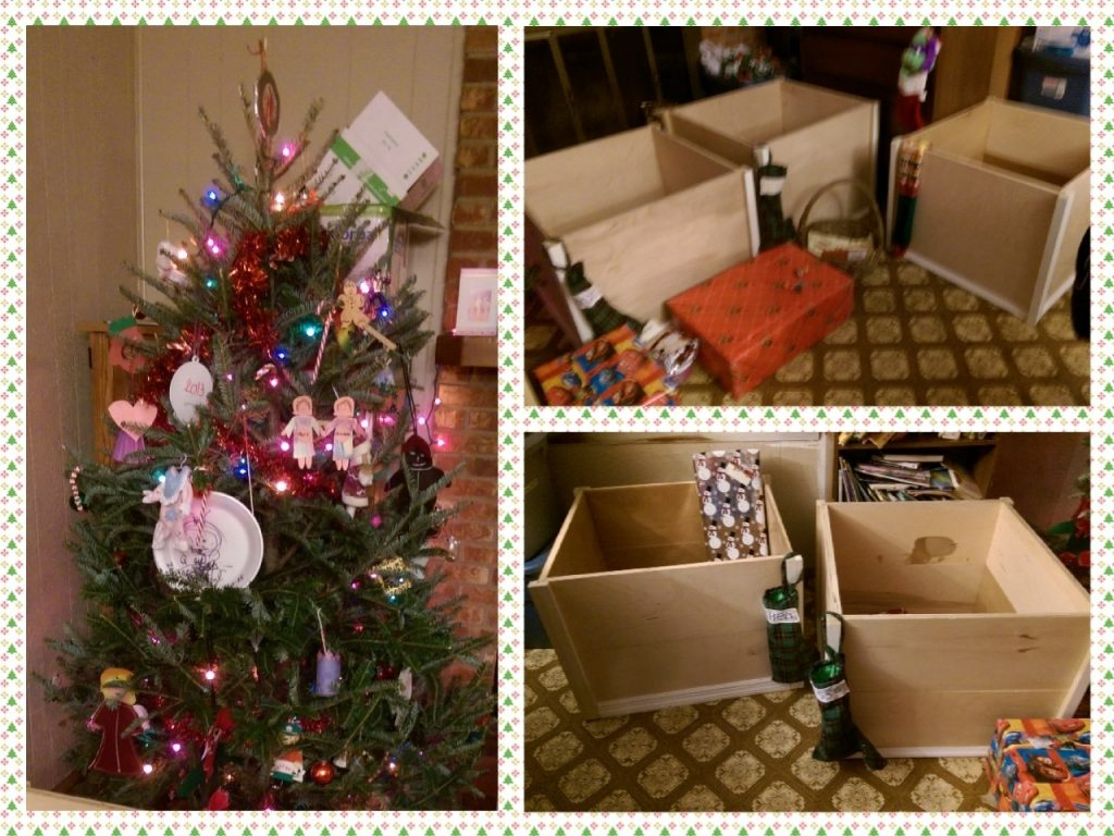 Christmas Toy Boxes